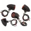 Custom Blinker 4er Set - schwarz