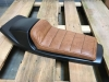 Flat Tracker Sitzbank Brown 46