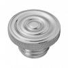 Motone Custom Fuel Gas Cap - Billet Aluminium - Rippled
